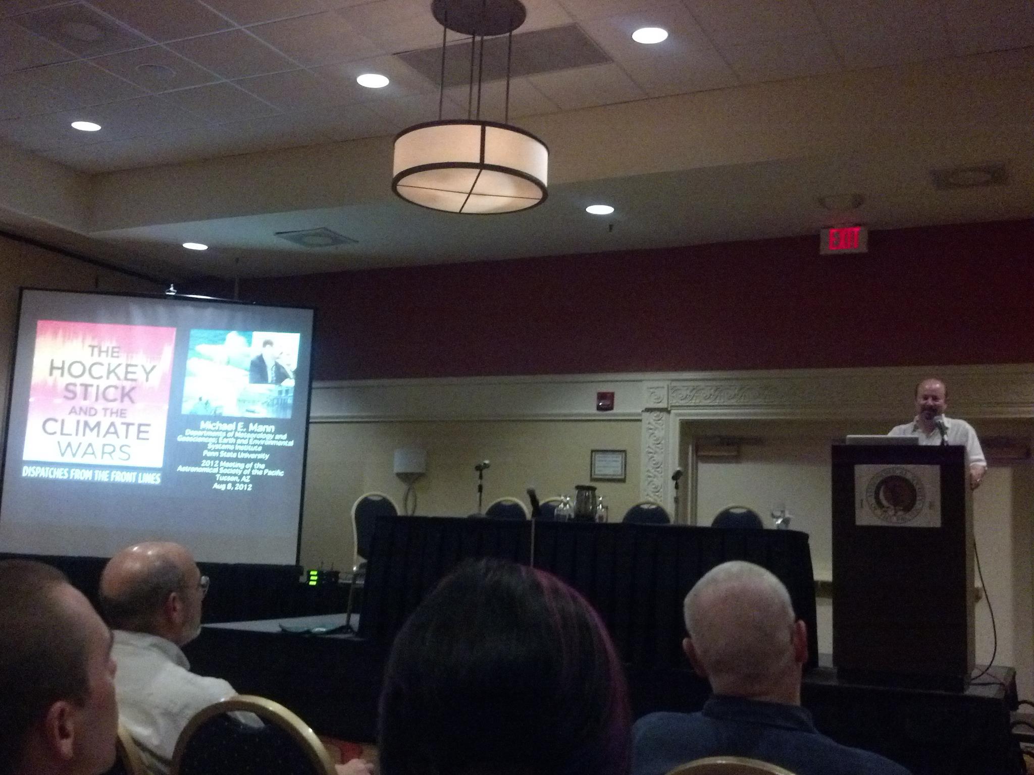 ASP 2012 Mann speaking