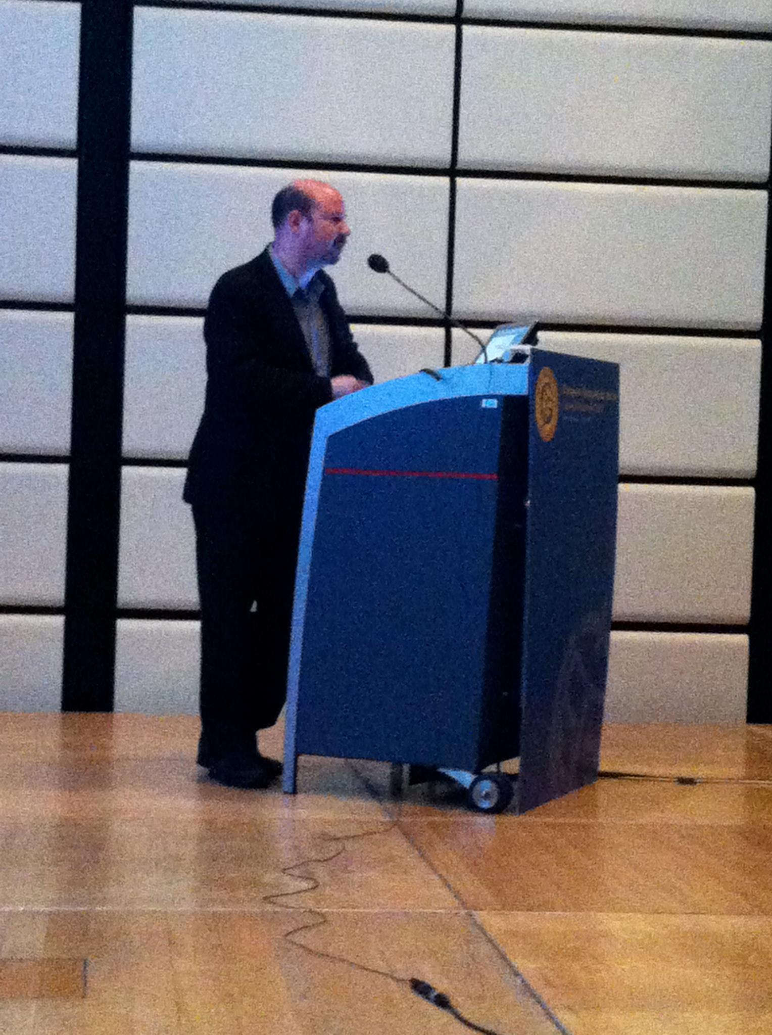 Mann giving Oeschger Lecture
