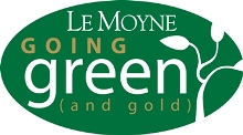 LeMoyne College GoGreen logo