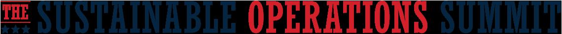 Sustainable Operations Summit logo