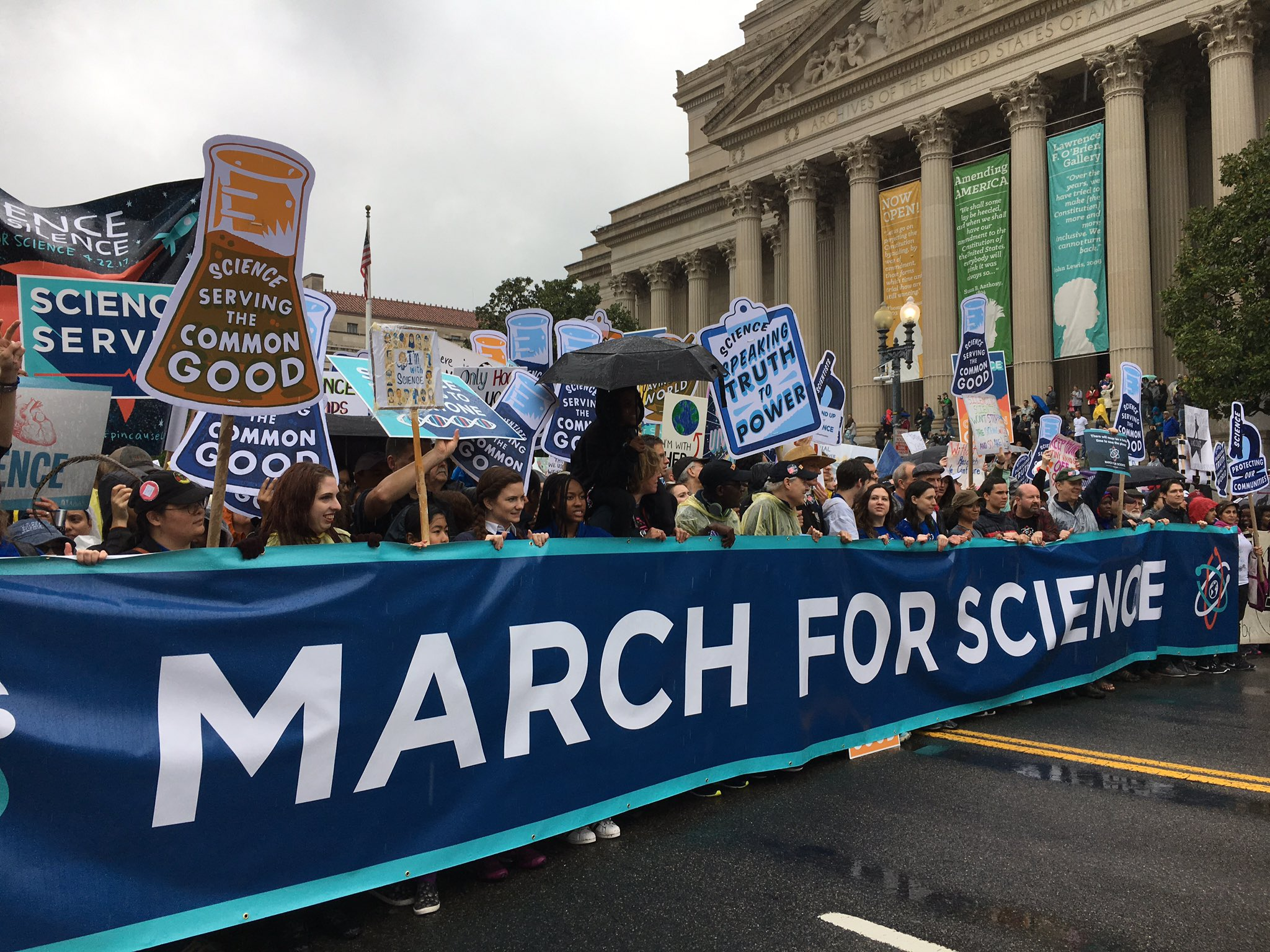 Dr Mann And Bill Nye Washington Dc Science March Photo 8 April 22